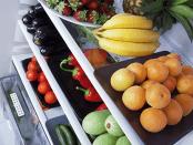 Refrigerador fruta