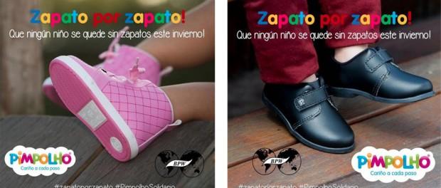 Dona tus zapatos para niños descalzos y obtén un 25% de descuento en  Pimpolho acf314ab146bd