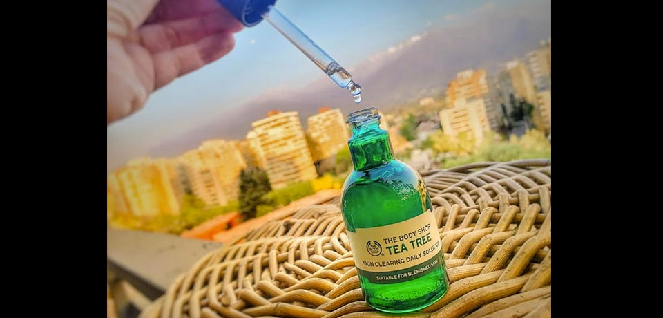 #Review: aceite de Tea Tree de The Body Shop para hidratar la piel