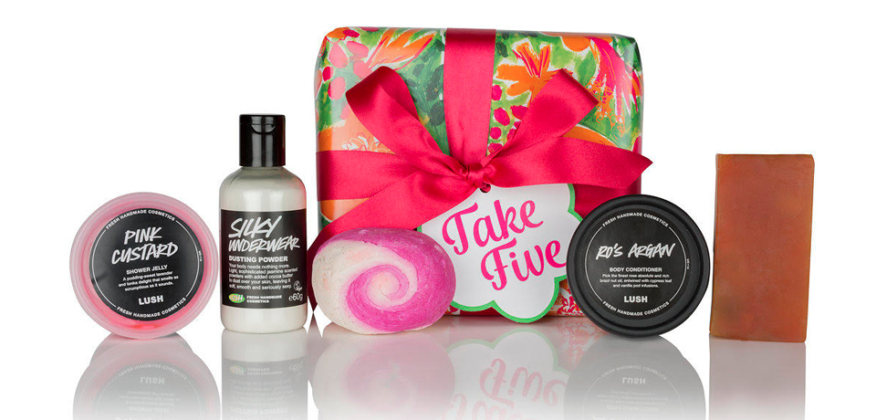 1- Set Take Five de Lush