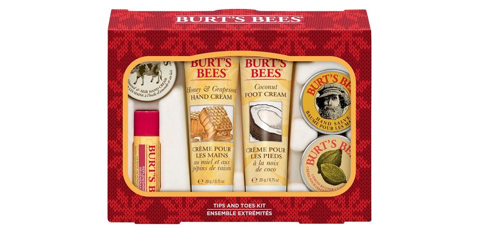 Pack de navidad de Burt's Bees